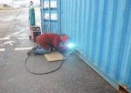 shipping container modification and repair 029